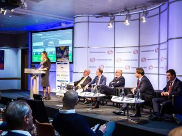 3rd annual Ukrainian Investment Roadshow took place at Thomson Reuters, Canary Wharf, London