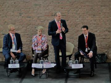 The Ukrainian Agro-Industrial and Food Forum was held in Amsterdam with the participation of key government officials and representatives of agribusiness